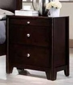 Red Wood Nightstand