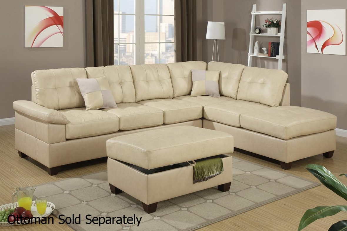 beige leather sectional sofa steal a sofa furniture outlet los angeles ca. Black Bedroom Furniture Sets. Home Design Ideas