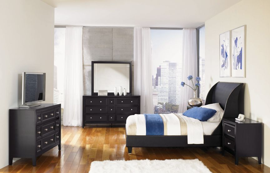 Najarian Furniture Reflections Cal King Bedroom Set In Los Angeles