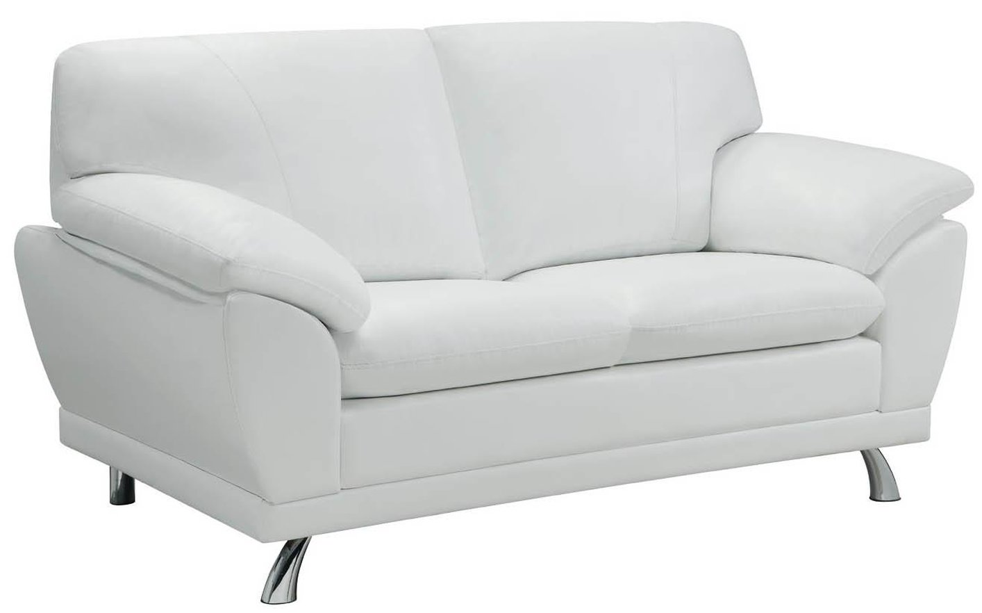 robyn white leather loveseat  stealasofa furniture outlet los  - robyn white leather loveseat robyn white leather loveseat