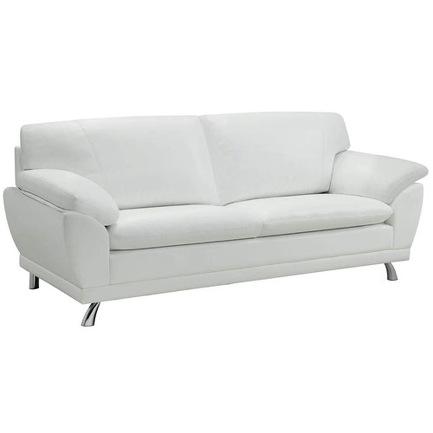 robyn white leather sofa a sofa furniture outlet