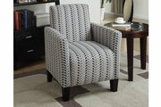 Romulus Yellow Fabric Accent Chair