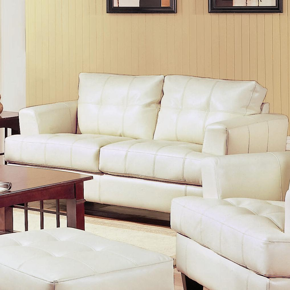 Leather Sofa Beige: Steal-A-Sofa Furniture Outlet Los