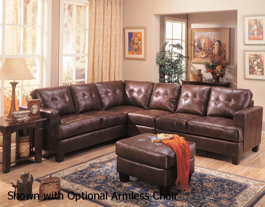 Brown leather sectional sofa steal a sofa furniture for Leather sectional sofa los angeles