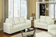 Sawyer Cream Sofa and Loveseat Set