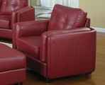 Sawyer Red Arm Chair