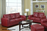 Sawyer Red Sofa and Loveseat Set
