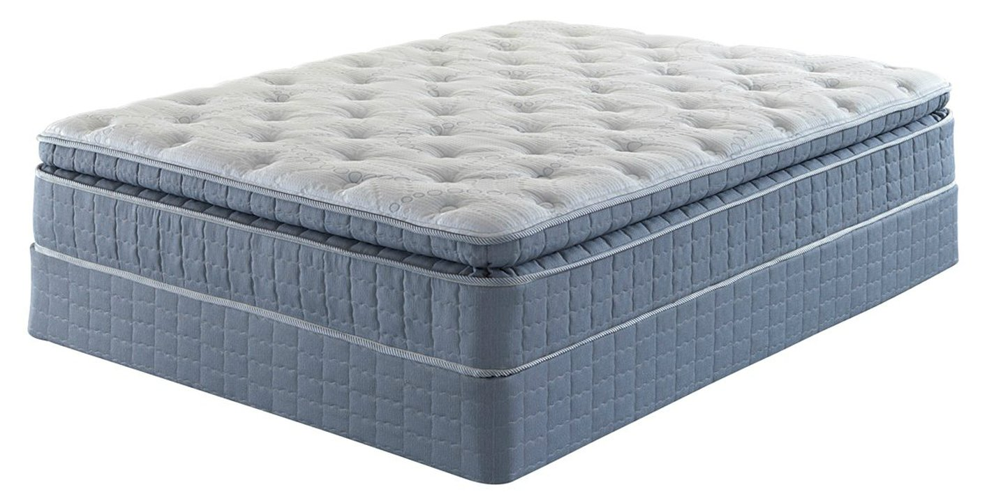 Serta Sidonia Pillow Top Queen Size Perfect Sleeper Mattress In ...