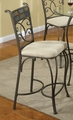 Sheridan Grey Metal Pub Stool (Min Qty 2)