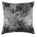 Silver Fabric Accent Pillow