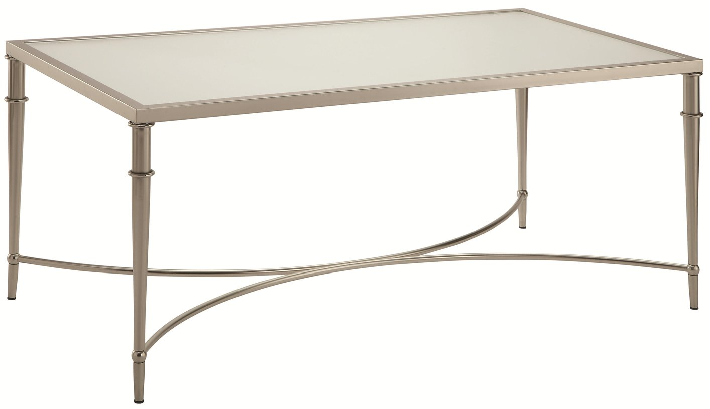 Merveilleux Silver Glass Coffee Table