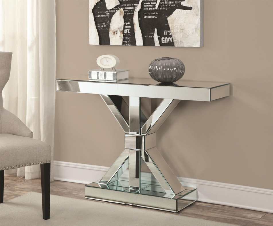 Small Mirrored Kitchen Table