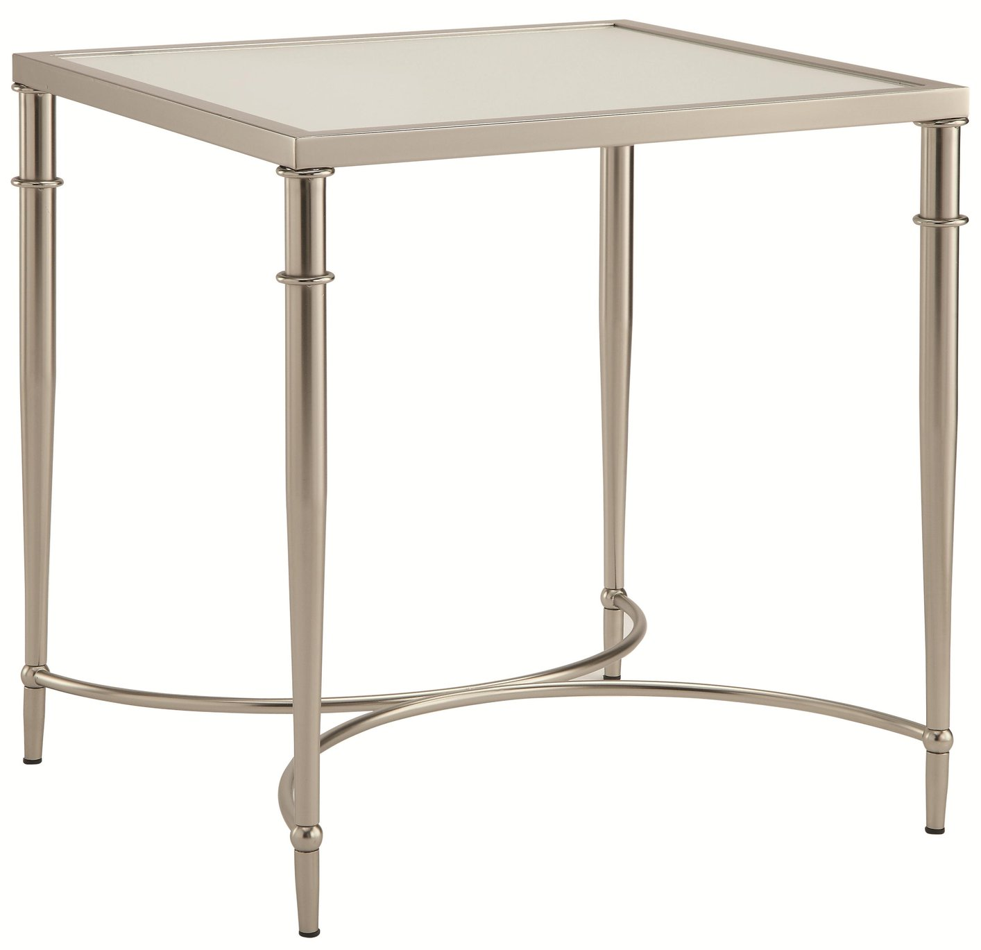 Silver Gl End Table