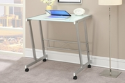 Silver Glass Writing Desk