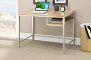 Beige Wood Writing Desk