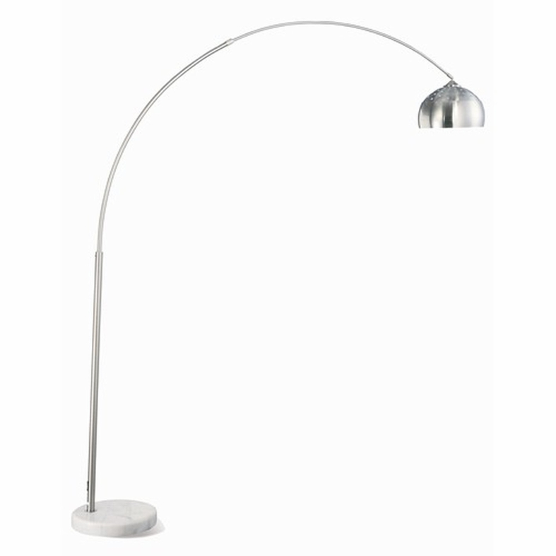 Silver metal floor lamp steal a sofa furniture outlet los angeles ca silver metal floor lamp mozeypictures Image collections