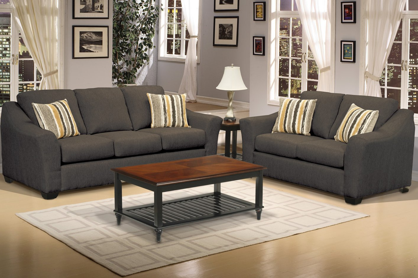sofa & loveseat set - steal-a-sofa furniture outlet los angeles ca