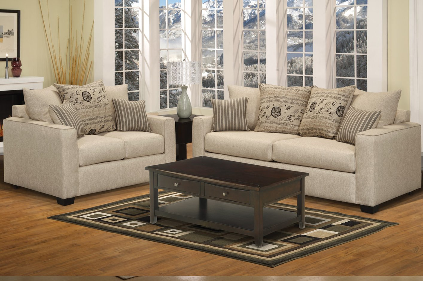 Sofa Loveseat Set StealASofa Furniture Outlet Los Angeles CA