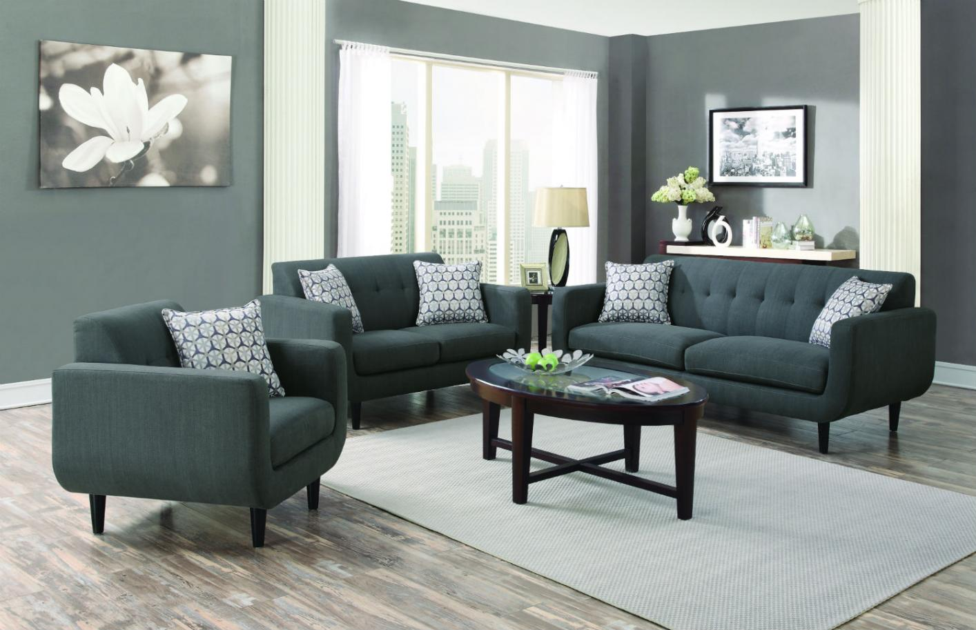 stansall grey fabric sofa steal a sofa furniture outlet los angeles ca