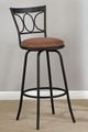 Brown Metal Bar Stool