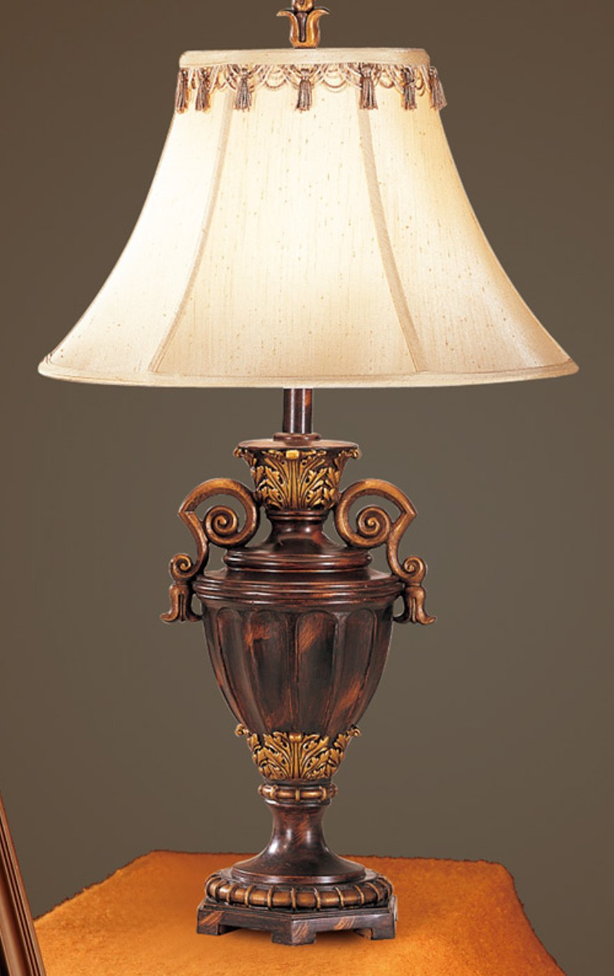 Brown Glass Table Lamp Steal A Sofa Furniture Outlet Los