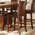 Thomson Dark Oak Wood Pub Stool (Min Qty 2)