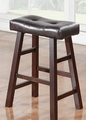 Brown Wood Stool