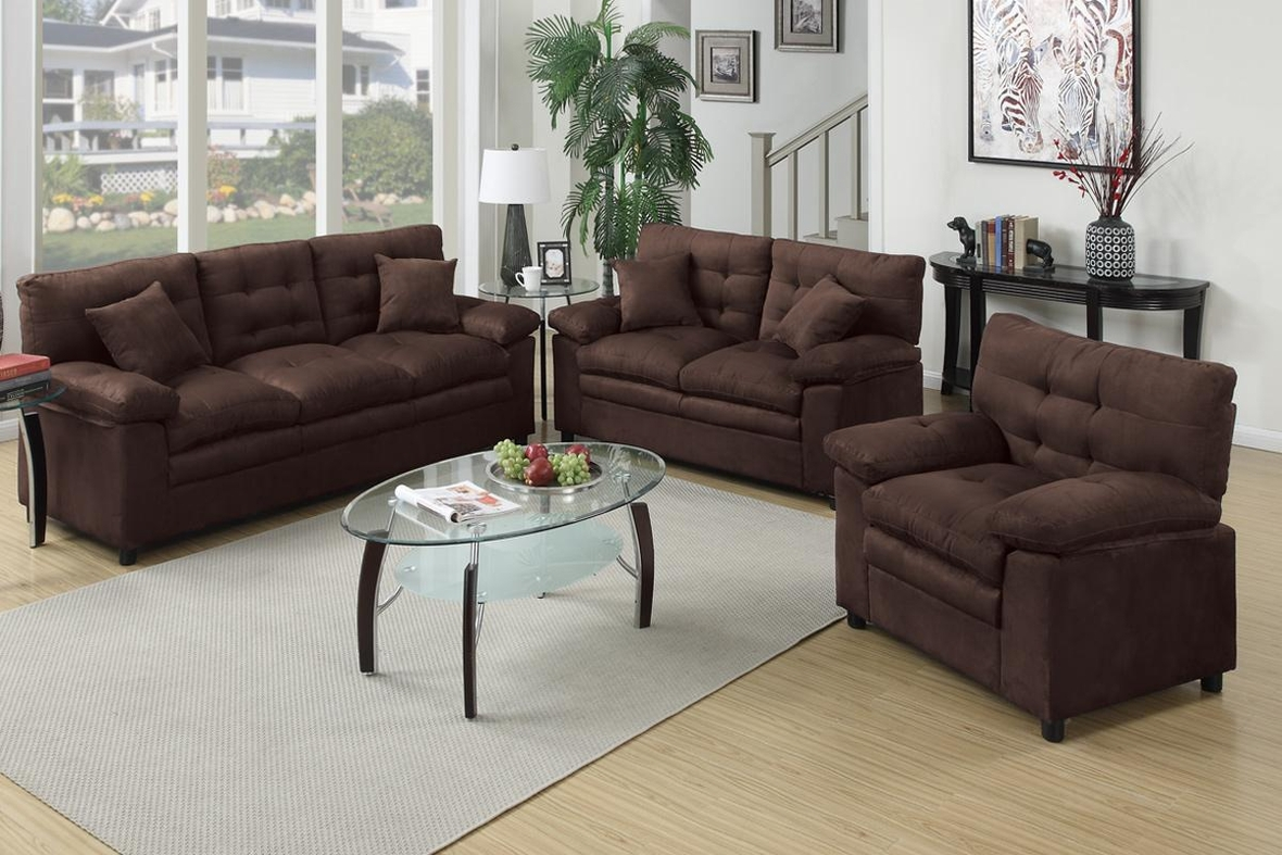 brown leather sofa loveseat and chair set steal a sofa furniture outlet los angeles ca. Black Bedroom Furniture Sets. Home Design Ideas