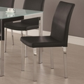Vance Black Chairs (Min Qty 4)