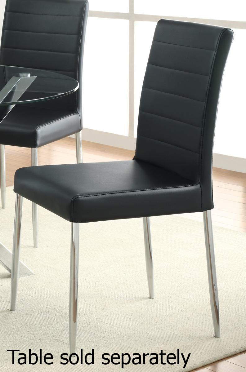 Silver Metal Dining Chair Steal A Sofa Furniture Outlet
