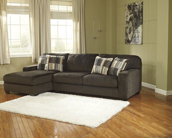 Westen Brown Fabric Sectional Sofa