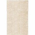 White Fabric Floor Rug
