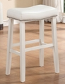 White Wood Bar Stool