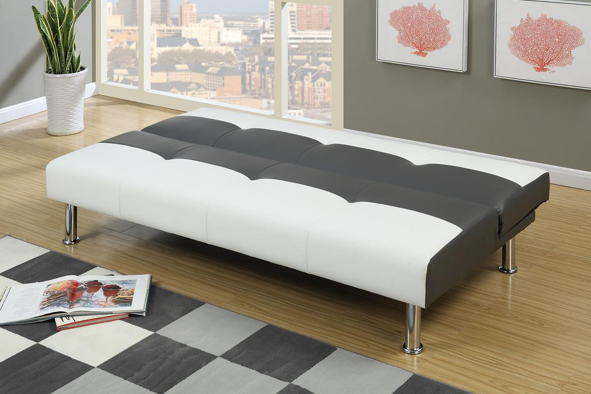 White Leather Sofa Bed   Steal A Sofa Furniture Outlet Los ...