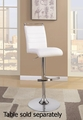 White Metal Bar Stool