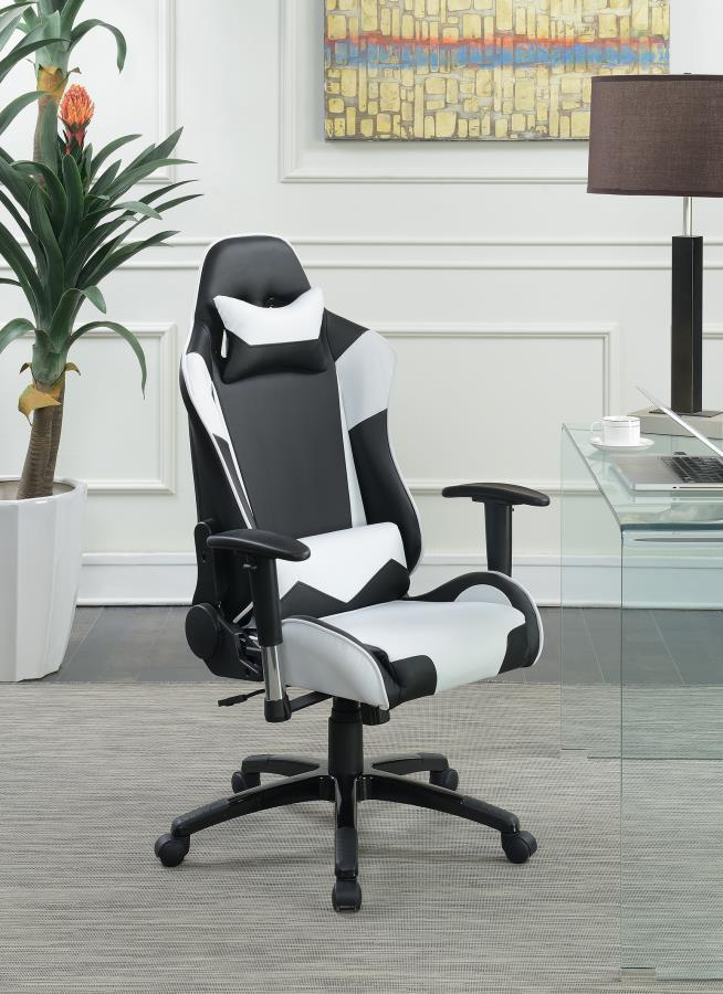 White Metal Office Chair Steal A Sofa Furniture Outlet
