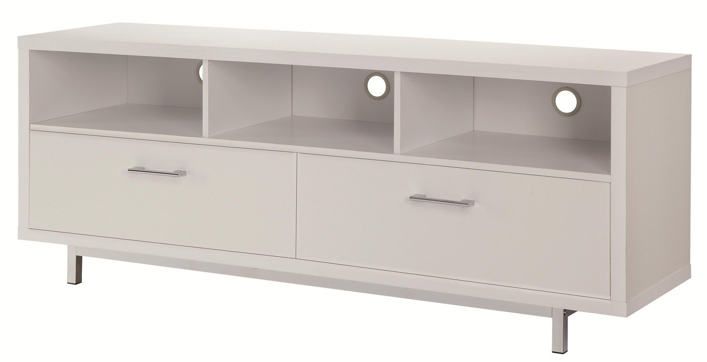 Marvelous White Metal TV Stand White Metal TV Stand ...
