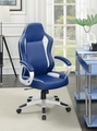 White Plastic Office Chair