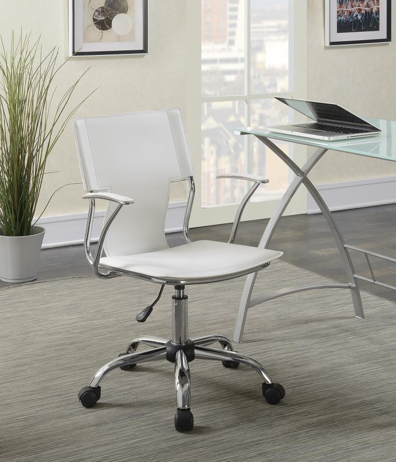White Plastic Office Chair Steal A Sofa Furniture Outlet