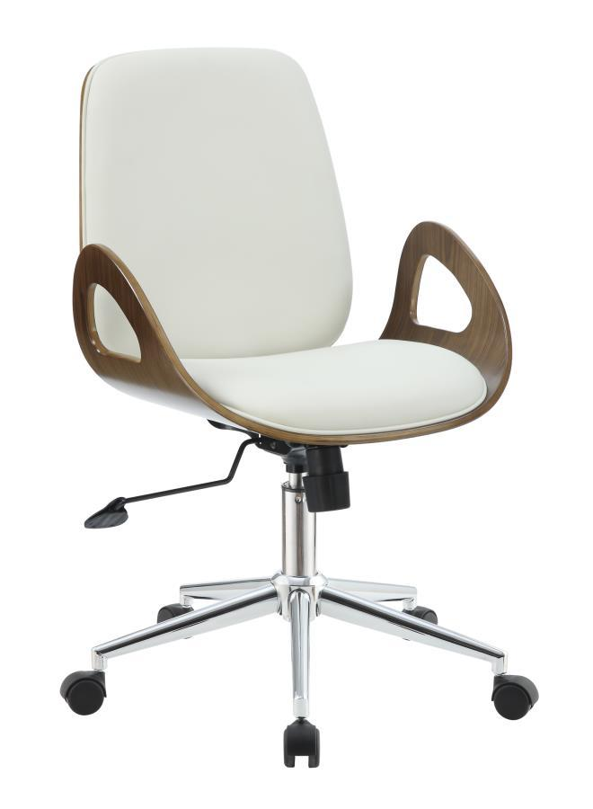 White Wood Office Chair Steal A Sofa Furniture Outlet Los Angeles Ca