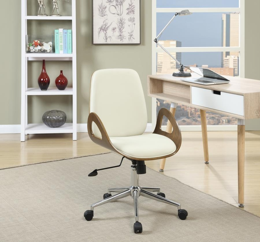 White Wood Office Chair Steal A Sofa Furniture Outlet