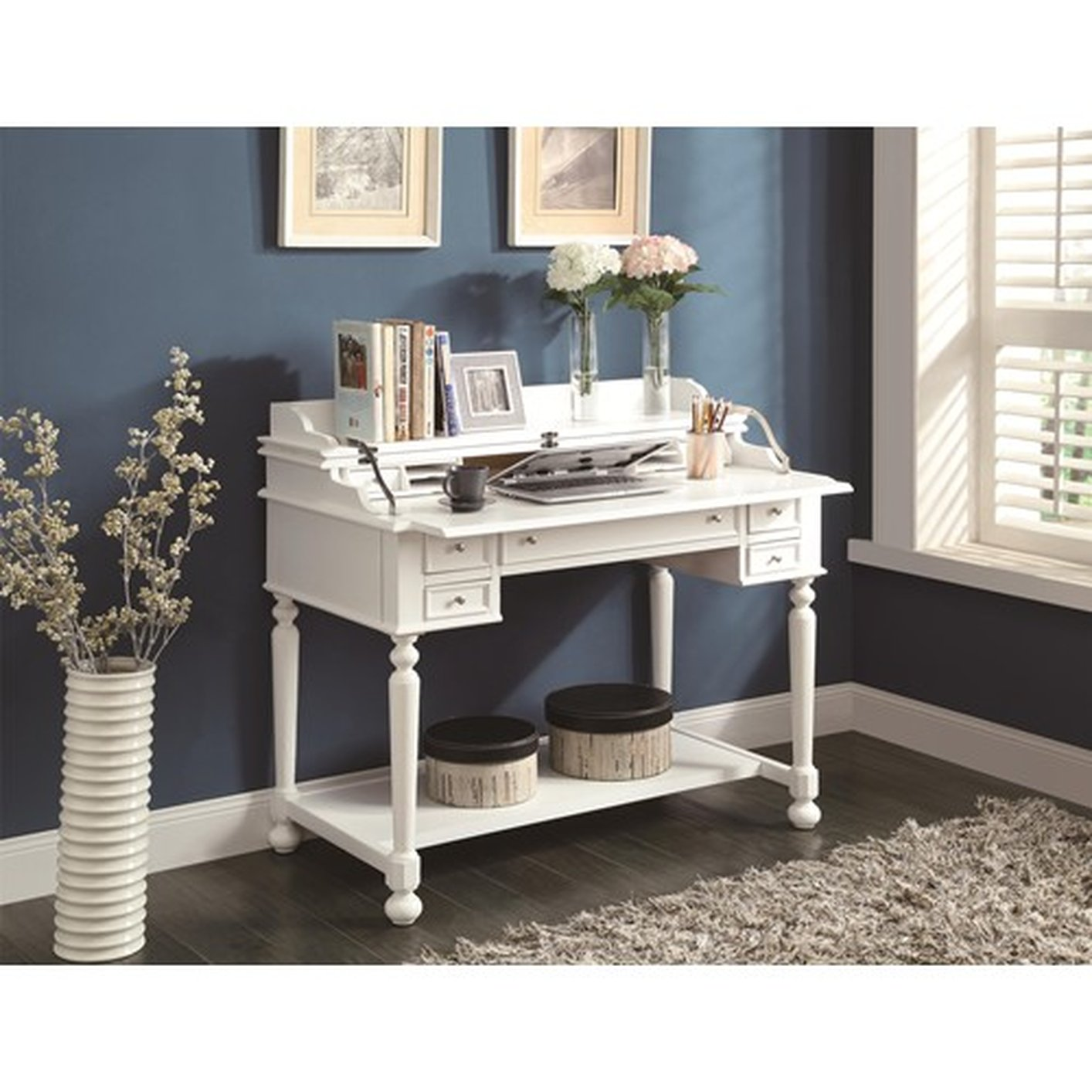 White Wood Office Desk White Wood Office Desk ...