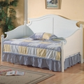 White Wood Twin Size Day Bed