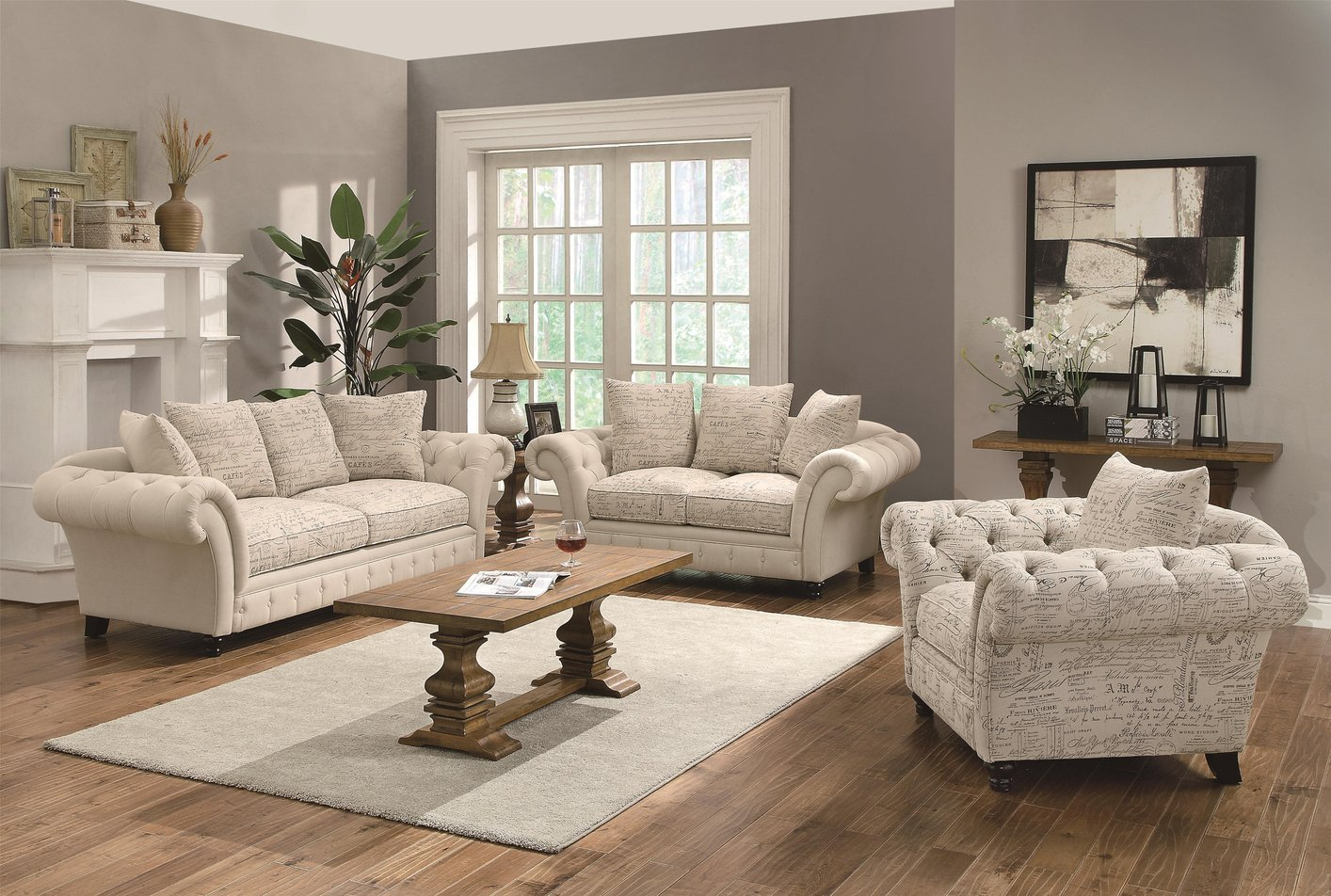 Willow Beige Fabric Sofa Steal A Sofa Furniture Outlet