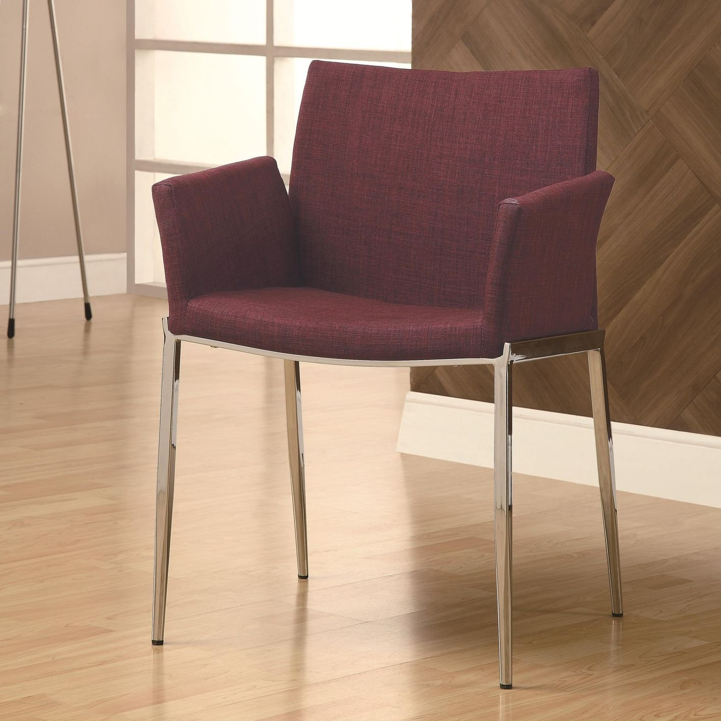 Red Fabric Dining Chair Steal A Sofa Furniture Outlet Los Angeles CA