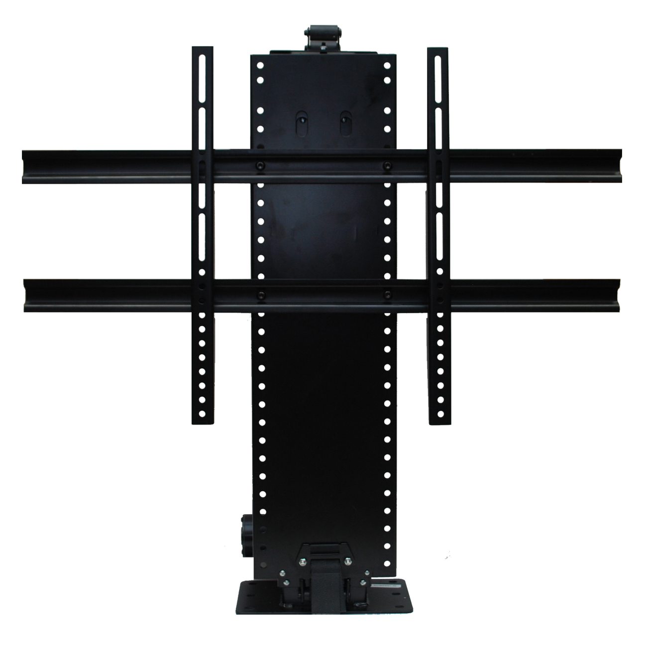 Whisper lift ii tv lift for flat screen tvs up to 60 for Motorized flat screen tv lift