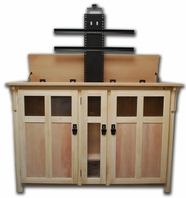 Bungalow Unfinished Oak TV Lift Cabinet