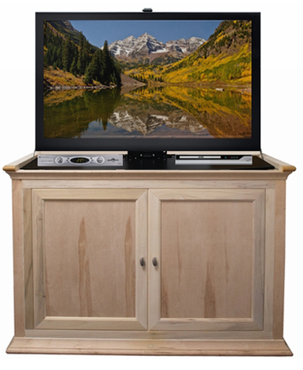 the hartford tv lift cabinet for flat screen tvs up to 46. Black Bedroom Furniture Sets. Home Design Ideas