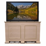 The Grand Elevate™ Unfinished<br> Touchstone's TV Lift Cabinet for TVs up to 60 inches, 9 available finishes