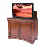 DISCONTINUED - Tremont Brandy Finish TV Lift Cabinet